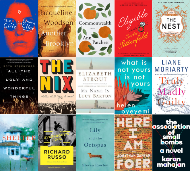 Goodreads Choice Awards 2016 | Longlisted| Fiction