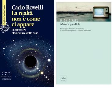 La realtà non è come ci appare. La struttura elementare delle cose di Carlo Rovelli, Raffaello Cortina Editore (15 gennaio 2014). ISBN: 9788860306418, 242 p., 22 €.