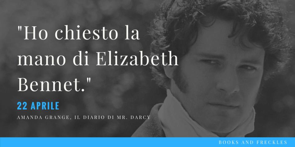 Diario Mr Darcy Grange